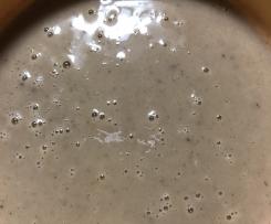 Maronensuppe mit Ingwer, Zimt und Kardamon (vegan)