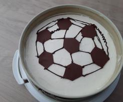 Philapelphia Torte für Fußball-Fan
