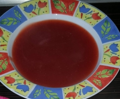 Erdbeer Kisiel (polnischer Nachtisch)
