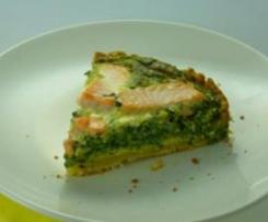 Lachs-Spinat-Kuchen