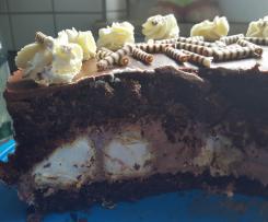 Schoko-Windbeutel-Torte