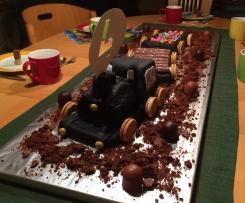 Schokoladenkuchen zart
