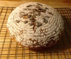 Bäckerbrot mit Kürbis