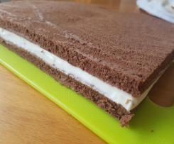 Kakaocremeschnittchen