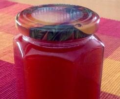 Fruchtige Erdbeermarmelade mit O-Saft