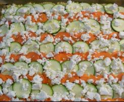 Herzhafter Zucchinikuchen