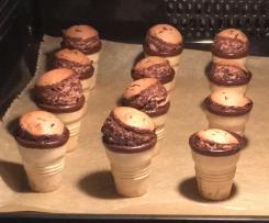 Kinderkuchen: Vanille-Dinkel-Muffin im Eierlikörbecher