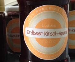 Erdbeer-Kirsch-Aperol-Marmelade