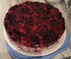 Waldbeer - Nougat - Crunch - Torte
