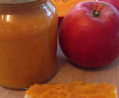 Kürbis-Apfel Marmelade