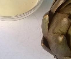 Artischocken mit Zitronen-Knoblauch-Mayonaise