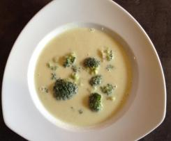 Brokkoli - Frischkäse - Suppe hmmmmm 😍