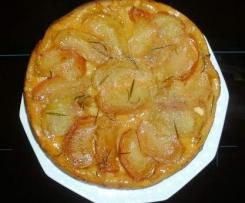 Apfel-Rosmarin Tarte Tatin