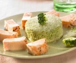 Brokkoli-Soufflé / Broccoli puddings (Timbales de bróculos)