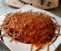 Scharfe grandios leckere Tomatensauce