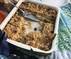 Apple Cheesecake Bars Apfel-Streusel-Käsekuchen