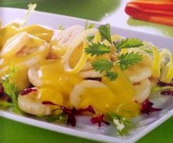 Bananensalat mit Aprikose und Curry