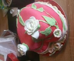 Angie's fondant torte