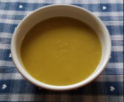 Kartoffel-Topinambur-Curry-Creme-Suppe