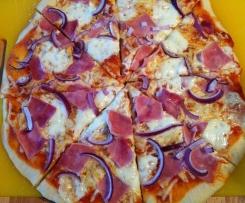 Variation von Weltbester Pizzateig (auch WW) Tomatensoße 0 PP