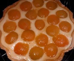 Aprikosen-Frischkäse-Tarte