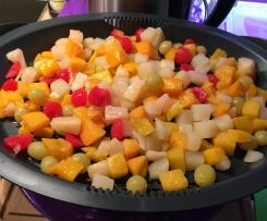 Curry-Hähnchen mit Frucht