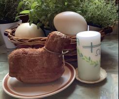 Variation Osterlamm mit Nüssen