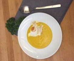 Süsskartoffel-Karotten-Suppe