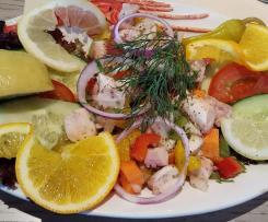 Tintenfischsalat, Tintenfisch Salat, Pulpo