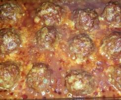 Mama´s leckere Tomatenhackbällchen