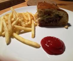 Kleiner Burger im Airfryer