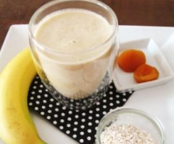 Nuss-Milch mit Banane, vegan