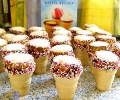 Eierlikörbecher-Muffins für Kinder