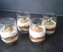 Lemon cake im Glas