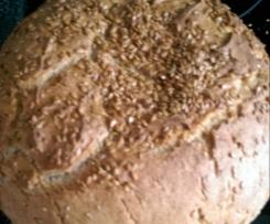 Brot mit Mehlresten