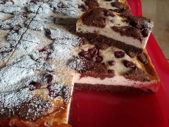 Kirsch Quark Kuchen Von Dani Sv Ein Thermomix Rezept Aus Der