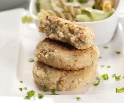 Blumenkohl-Käse-Burger