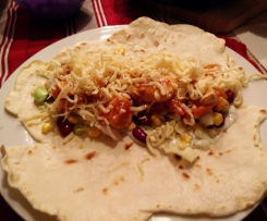 Weizentortilla, Fajita, Enchilada