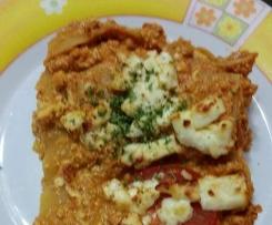 Vegetarische Tofu-Lasagne, WW geeignet