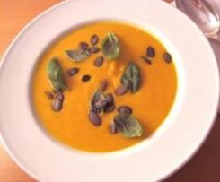 Italienische Kürbissuppe