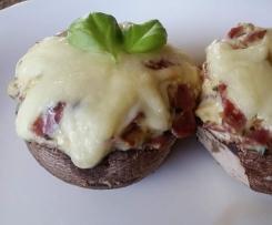 Gefüllte Champignons- auch für den Grill