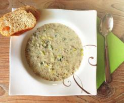 Raubritter-Suppe (Käse-Lauch-Suppe) by Fairy-Cakes