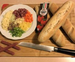 schlemmer Salami Baguettes