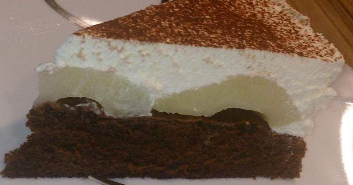 Schoko Birnen Schmand Kuchen Von Wollkloos Ein Thermomix Rezept