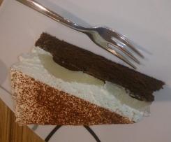 Schoko Birnen Schmand Kuchen