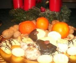 Weihnachtsgebäck (1 Teig für mehrere Sorten)