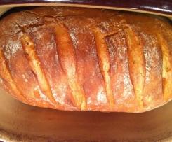 Karottenbrot aus dem Tontopf o.ä. ...