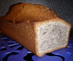 Mohnkuchen (Rührteig) - superschnell & extrem saftig