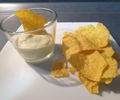 Jalapenos-Käse-Dip für Nachos