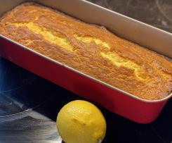 Zitronenkuchen mit Buttermilch